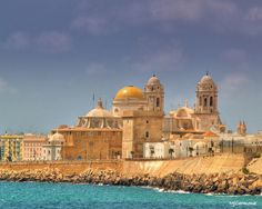 Cadiz, Spain- Where I lived for a summer in high school. Entire town is cobble stone streets -CHECK Beautiful Places To Visit, Oh The Places You'll Go, Wonderful Places, Places To Travel, Amazing Places, Granada, Travel Around The World, Around The Worlds, Semester At Sea