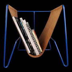 UNIONMADE - GIFTSHOP - Magazine Rack in Blue