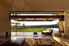 Large-open terraces passively cool Brazilian home; Studio Arthur Casas