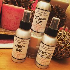 OMG you guys these room sprays are absolutely divine!! When I found out @southernfireflycandle offered room sprays of my favorite candle scents we had to carry them!  You seriously must have these in your life!! These sprays graciously fill the room with just one spray and last forever! $18.00 each.  3 scents. My favorites -  Amber Oak Coconut Lime and Grapefruit Mangosteen!  Let me just warn you - Coconut Lime will take you immediately to the islands! . With this cold weather  wouldn't that…