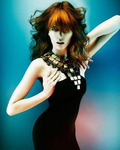 www.estetica.it | Credits Hair: Karine Jackson Styling: Leticia Dare Make up…