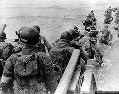 June 1944, Utah Beach, US 4th Infantry Division.