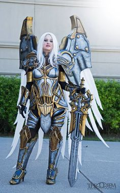 Uriel from Darksiders #cosplay