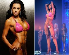 Fit mom and cover model Olya Haidner. routine and snipet of her diet Bikini Fitness, Bikini Workout, Bodybuilding Training, Bodybuilding Workouts, Fitness Competition, Figure Competition, Fitness Inspiration, Motivation Inspiration, Model Training