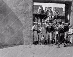 photo Ronald Colman and cast silent film Beau Geste 83-05