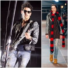 What's he wearing?: David Macklovitch (Dave 1) from Chromeo in Saint L...