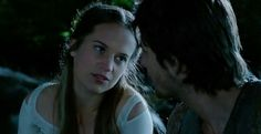 Alicia Vikander and Ben Barnes as Alice and Tom in Seventh Son ♡