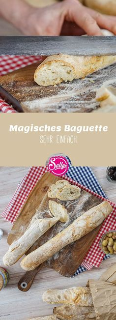 This magic baguette is very easy to make and is so incredibly delicious and crispy! This magic baguette is very easy to make and is so incredibly delicious and crispy! Donut Recipes, Bread Recipes, Baking Recipes, Cake Recipes, Dessert Recipes, Desserts, Chicken Recipes, Keto Donuts, Baked Donuts