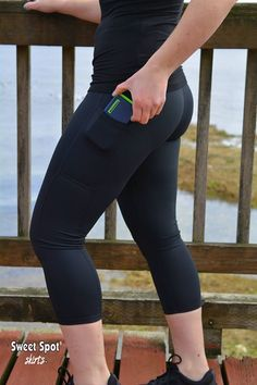 Calf Length Tights (BACK in STOCK)   Softest fabric allowable by law.  Cell Phone Pocket  https://sweetspotskirts.com/collections/capri/products/black-tights-calf-length-capris-1 fabtagsale, fabtag, fashionfabtagsale, womenfabtagsale