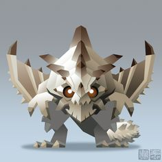 "kevanhom: ""Gravios from CAPCOM's Monster Hunter """