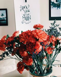 carnations, red carnations, bouquet of carnations, My Flower, Wild Flowers, Beautiful Flowers, Plants Are Friends, Bouquet, No Rain, Pics Art, Red Roses, Planting Flowers
