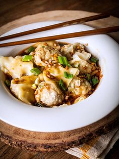 Sichuan Wontons