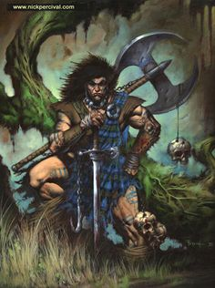 Slaine BY Nick P, his Slaine has to be here