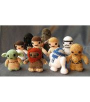 Star Wars crochet kit helps to bring your favorite characters at your finger tips