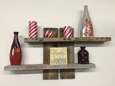 Rustic two tier shelf by Sappercraft on Etsy