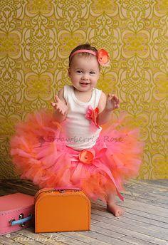 Tutu Outfit Petti Tutu Custom petti tutu Baby by StrawberrieRose, $68.95 TOO CUTE!