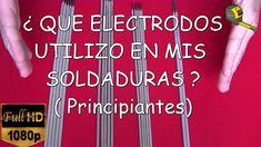 TIPOS DE ELECTRODOS PARA SOLDAR