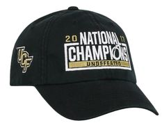 bcb1ad74e2f Central Florida UCF Knights 2017-2018 National Champions Undefeated Adj Hat  Cap
