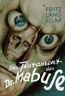 Directed by Fritz Lang. With Rudolf Klein-Rogge, Otto Wernicke, Thomy Bourdelle, Gustav Diessl. French version of the German movie The Testament of Dr. Mabuse Both movies were directed simultaneously by Fritz Lang in Germany. Dolby Digital, Fritz Lang Film, Superman, Peter Lorre, The Criterion Collection, Cinema, Blu Ray Movies, Classic Movie Posters, Cult
