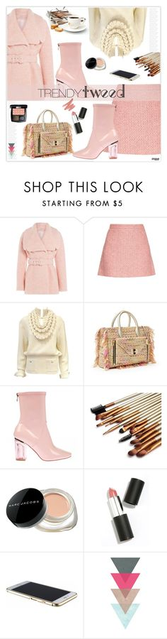"""Trendy Tweed"" by marion-fashionista-diva-miller ❤ liked on Polyvore featuring Emilia Wickstead, Chanel, Gucci, Diane Von Furstenberg, Marc Jacobs, Sigma Beauty, women's clothing, women, female and woman"