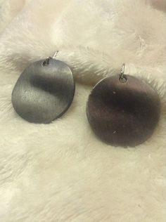 Vintage Silver Tone Dangle Drop Hook Earrings #1428 #DropDangle