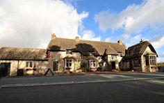 The Wagon and Horses pub at Beckhampton, Wiltshire.