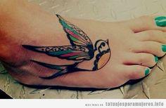 Tatuaje de Golondrina!