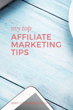 Affiliate income is my largest income stream. Here are my tips. Read the post now:  http://amylynnandrews.com/affiliate-marketing/