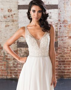 Justin Alexander Signature Beaded Net over Sweetheart Bodice with Silk Chiffon Skirt Justin Alexander Bridal, Bridal Dresses, Prom Dresses, Bridesmaid Gowns, Wedding Lounge, Chiffon Skirt, Silk Chiffon, Sophisticated Bride, Bridal Collection