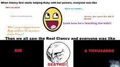 The Darkest Minds: Never Fade by Alexandra Bracken.  Clancy is such a JERK!!!!