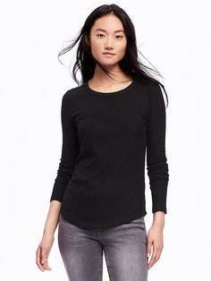 Old Navy - Rib-Knit Sweater for Women in Blackjack, $19.94