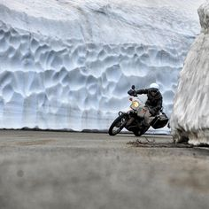 Hans was a little concerned. He had found his way into the bottom of the glacier and while the crevice was excessively wide at the moment he was unsure how long that would last.