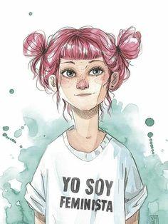 Image about art in Dibujos✨ by no tengo imaginación Art Pop, Art Journal Inspiration, Art Inspo, Art Watercolor, Illustration Art, Illustrations, Mixed Media Art, Cute Art, Character Art