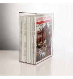 acrylic magazine holder image cep ice magazine rack