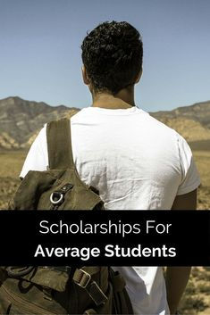 Scholarships For Average Student #scholarships For Average Students