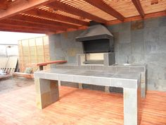 PERGOLAS Y QUINCHOS Backyard Kitchen, Backyard Patio, Barbacoa, Patio Design, Swimming Pools, Bbq, House, Outdoor, Home Decor