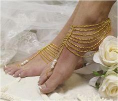 46376df4087cd8 GRECIAN GODDESS Gold womens Barefoot by Barefootsandalstudio- barefoot  sandals