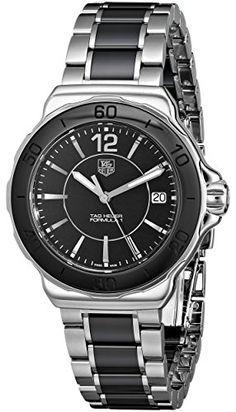 Just arrived Tag Heuer Women s  Formula 1  Black Dial Ceramic Quartz Watch  WAH1210. 396d4455d2f