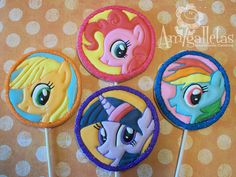 My Little Pony Cookies by Amigalletas on Etsy, $35.99
