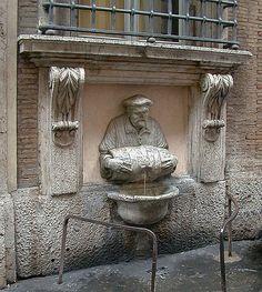 Fontana del Facchino - Via Lata