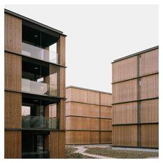 E2A Eckert Eckert Architekten - Escherpark apartment buildings [Zurich, 2015]