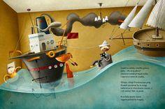 """Illustrations for book """"Śmiechu warte"""" by Agnieszka Frączek / Wydawnictwo Literatura"""