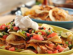 Chicken Nachos recipe from Ree Drummond via Food Network