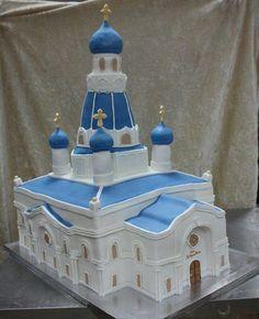 Church cake - Cake by House of Cakes Dubai