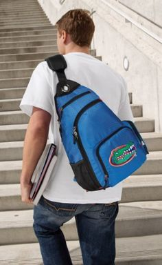 Florida Gators Sling Backpack University of Florida One Strap Backpacks for Travel or School Bags - BEST QUALITY Unique Gifts For Boys, Girls, Adults, College Students, Men or Ladies Broad Bay. $36.99. Save 26%!