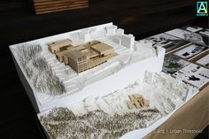 2016 Inha Univ. Dept. of Architecture Graduation Exhibition Model. 2016 인하대학교 건축학과 졸업전시 사진