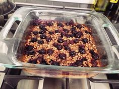 The HONEYBEE: Healthy Baked Oatmeal