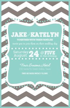 Invitations..omg so cute and a possibility for us!