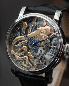 "exercicedestyle: "" octopus inspired design """