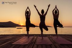 #yoga #crete #sunrise by Felix Matthies